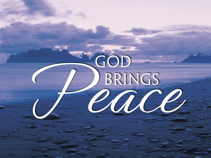 Image result for god gives peace